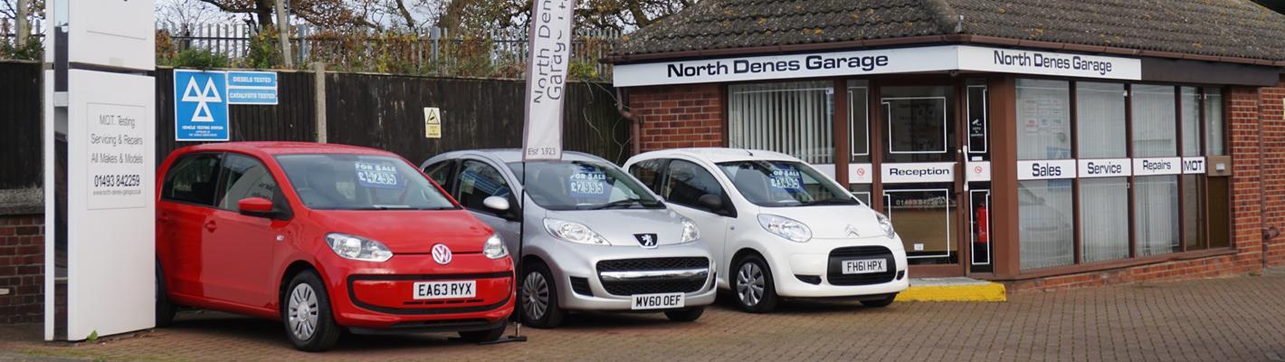 North Denes Garage Sales Office