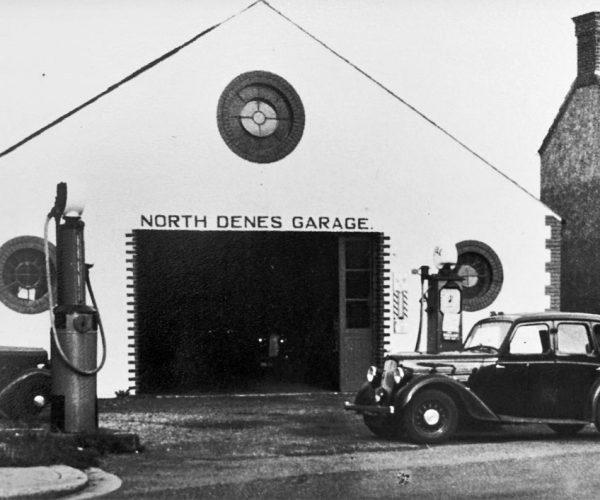 Old North Denes Garage