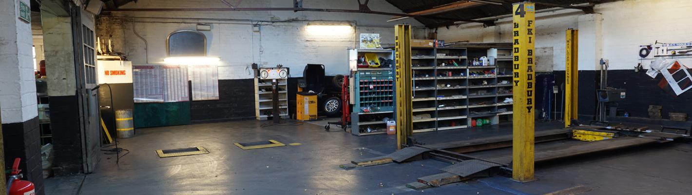 North Denes Garage - Workshop